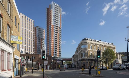 Proposed Hardess Street towers