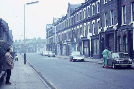 Milkwood Road in the 1960s