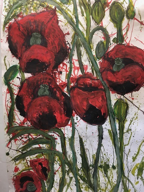 Poppies by Mary Rodríguez